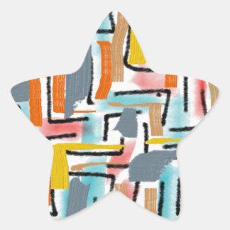 W-artistic Star Sticker