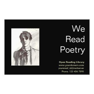 W. B. Yeats 14 Cm X 21.5 Cm Flyer