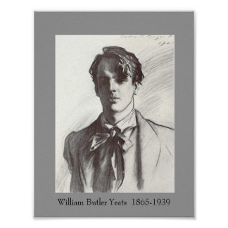 W B Yeats Posters