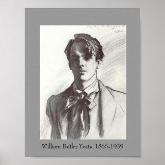 W. B. Yeats Poster