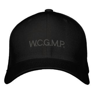 W.C.G.M.P. embroidered hat - dark