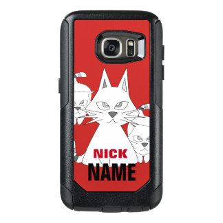 W-CAT OtterBox SAMSUNG GALAXY S7 CASE