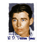 "W,D. ""Deacon"" Jones Postcards"
