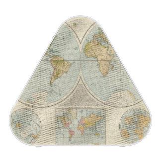 W, E Hemispheres