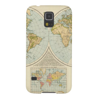 W, E Hemispheres Cases For Galaxy S5