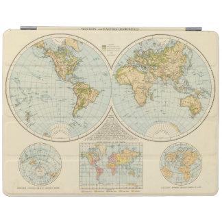 W, E Hemispheres iPad Cover