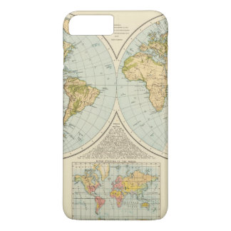 W, E Hemispheres iPhone 8 Plus/7 Plus Case