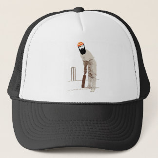 w g grace cricketer vintage trucker hat