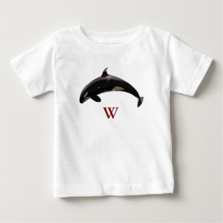 W Is For Whale Baby T-Shirt
