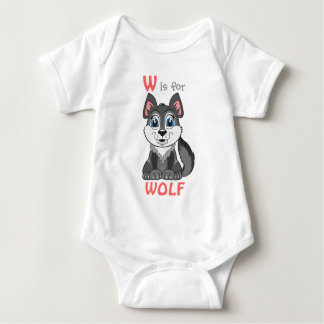 """W is for WOLF"" Childs Shirt"