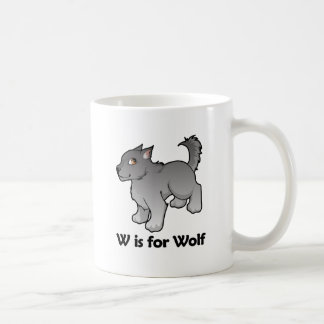 W is for Wolf Mug
