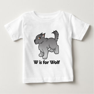 W is for Wolf Tee Shirts