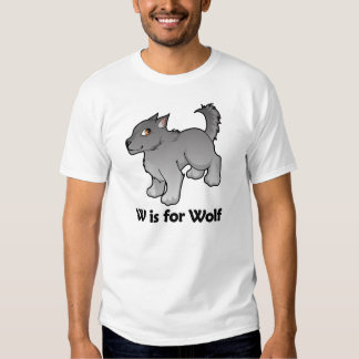 W is for Wolf Tshirts