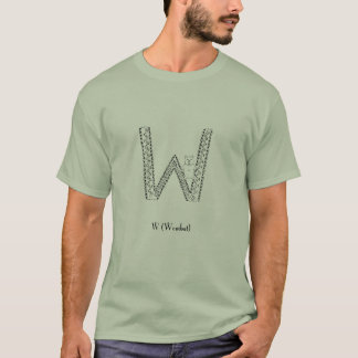 W is for wombat T-Shirt