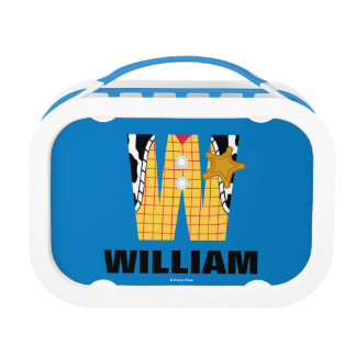 W is for Woody | Add Your Name Lunch Box