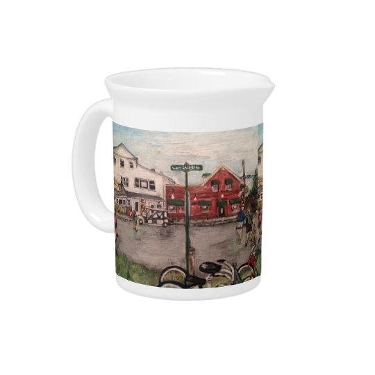 """W. Lakeshore Drive, Kelley's Island"" Pitcher"