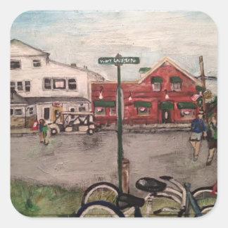 """W. Lakeshore Drive, Kelley's Island"" Sticker"