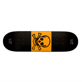 W.M. Skateboard Deck - Skull Edition