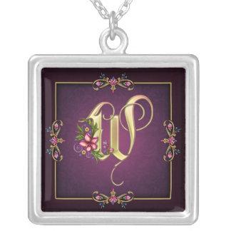 W Monogram Necklace