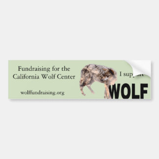 W.O.L.F. Bumper Sticker