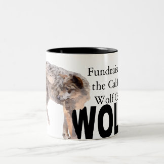 W.O.L.F. Two-Toned Mug