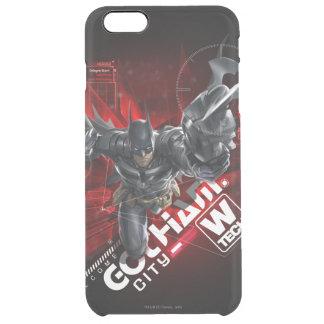 W-Tech Red Batman Graphic Clear iPhone 6 Plus Case