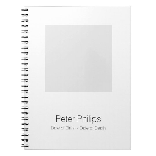 W Template Funeral Guest Book Add favourite photo