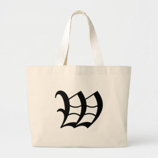 W-text Old English Large Tote Bag