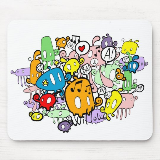 W ZAZZLE MOUSE PAD