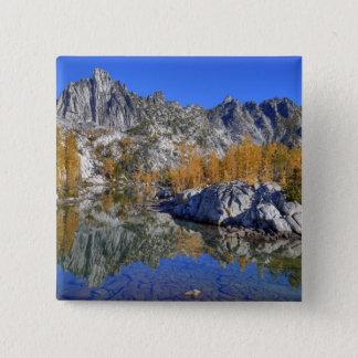 WA, Alpine Lakes Wilderness, Enchantment 7 15 Cm Square Badge