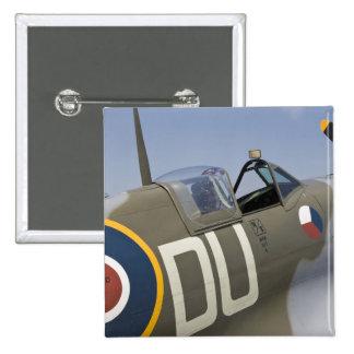 WA, Arlington, Arlington Fly-in, World War II 5 15 Cm Square Badge