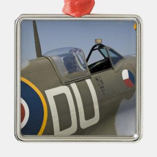 WA, Arlington, Arlington Fly-in, World War II 5 Silver-Colored Square Decoration