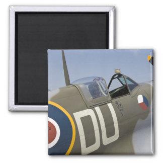 WA, Arlington, Arlington Fly-in, World War II 5 Square Magnet