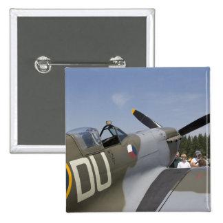 WA, Arlington, Arlington Fly-in, World War II 6 15 Cm Square Badge