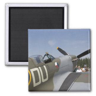 WA, Arlington, Arlington Fly-in, World War II 6 Square Magnet