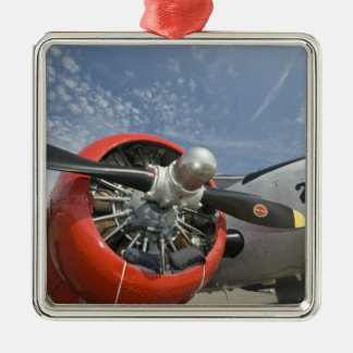 WA, Arlington, Arlington Fly-in, World War II 7 Christmas Ornament