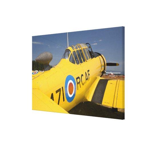 WA, Arlington, Arlington Fly-in, World War II Stretched Canvas Print