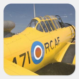 WA, Arlington, Arlington Fly-in, World War II Square Sticker