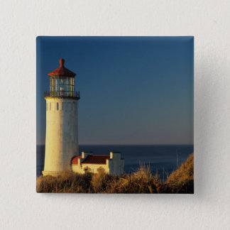 WA, Cape Disappointment State Park, North Head 15 Cm Square Badge
