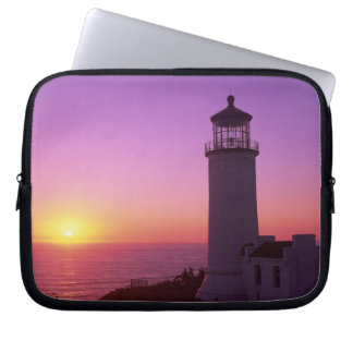 WA, Cape Disappointment State Park, North Head 2 Laptop Sleeve