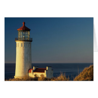 WA, Cape Disappointment State Park, North Head Greeting Card