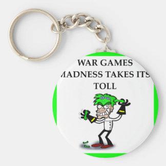 wa games basic round button key ring