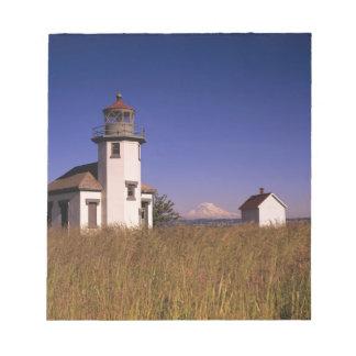 WA, Maury Island, Point Robinson Lighthouse, Notepad