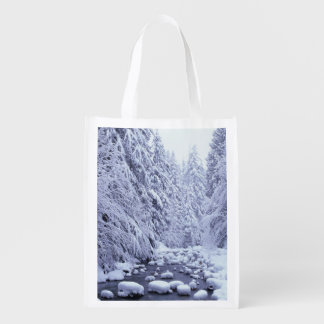 WA, Mount Baker-Snoqualmie National Forest, Reusable Grocery Bag