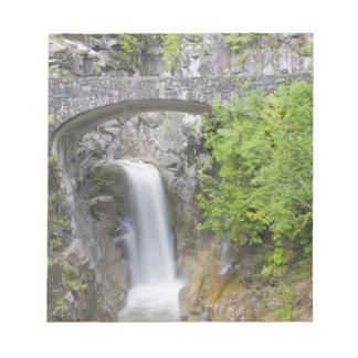 WA, Mount Rainier National Park, Christine Falls Notepad