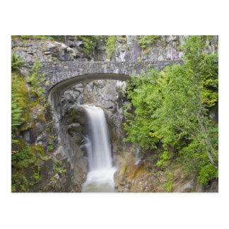 WA, Mount Rainier National Park, Christine Falls Postcard