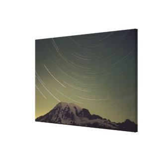 WA, Mount Rainier National Park, Mount Rainier, Stretched Canvas Print