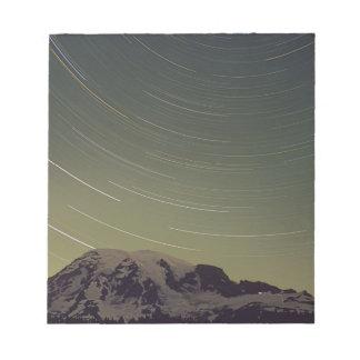 WA, Mount Rainier National Park, Mount Rainier, Notepad