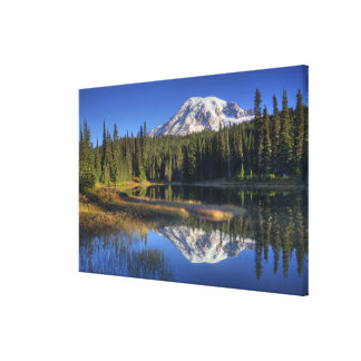 WA, Mt. Rainier National Park, Mt. Rainier Canvas Print