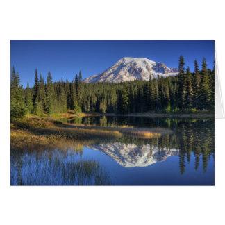 WA, Mt. Rainier National Park, Mt. Rainier Card